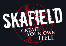 Skafield Create your own hell Sticker
