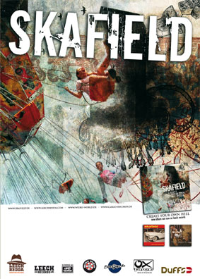 Skafield Create your own hell Poster