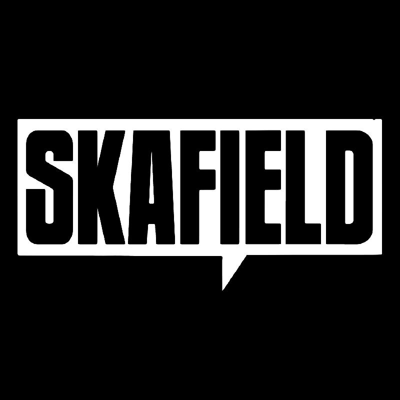 Skafield Bier Zip-Up Hoodie black